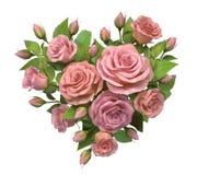 Hart van roze decoratie vector illustratie