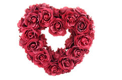 Hart van rozen Stock Afbeeldingen