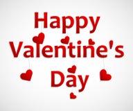 Hart voor de Achtergrond van de Valentijnskaartendag vector illustratie