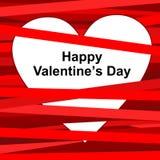 Hart voor Valentijnskaartendag Royalty-vrije Stock Afbeeldingen