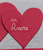 Hart voor Valentine-dag Stock Foto's