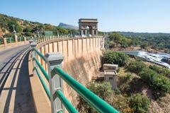 Hartbeespoort fördämningvägg, Sydafrika Royaltyfri Foto