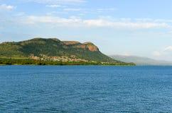 Hartbeespoort tama - Południowa Afryka fotografia royalty free