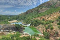 Hartbeespoortdam - Zuid-Afrika stock afbeelding