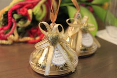 Hartchocolade voor huwelijk Royalty-vrije Stock Afbeeldingen