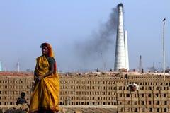 Harte Arbeit in Indien Lizenzfreie Stockfotografie