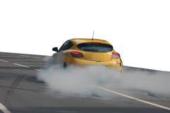 Harte Beschleunigung des Autos lizenzfreies stockfoto