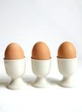 Harte gekochte Eier Lizenzfreie Stockbilder