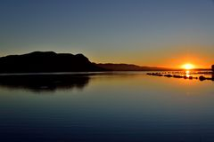 Hartebeespoort Dam Sun Rise Stock Photography