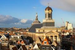 Hartebrugkerk kyrka, Leiden, Holland Royaltyfri Foto