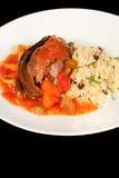 Hartelijke maaltijd Royalty-vrije Stock Afbeelding