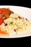 Hartelijke maaltijd Royalty-vrije Stock Foto