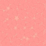 Harten, Valentine Background stock afbeelding