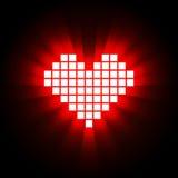 Hartenergie, gezondheidsconcept Vector illustratie Royalty-vrije Stock Foto