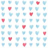 Hartenpatroon vector illustratie