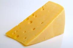 Harter Sektor des Käses stockfotos