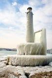 Harter Winter der Schweiz Genf im See Leman Lizenzfreie Stockfotos