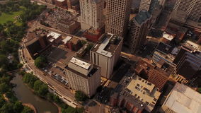 Hartford Aerial stock video footage