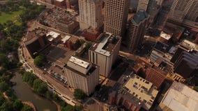 Hartford Aerial stock video footage