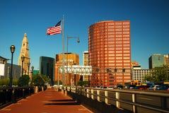 Hartford céntrica, Connecticut imagen de archivo libre de regalías