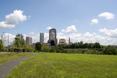 Hartford City Skyline Royalty Free Stock Photo