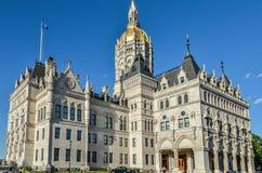 Hartford Connecticut Capitol Building Stock Photo