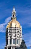 Hartford Connecticut Kapitoliumkupol Arkivfoto