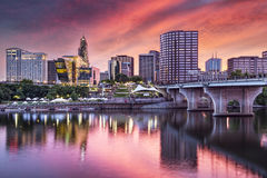 Hartford, Connecticut. USA downtown cityscape Royalty Free Stock Photography