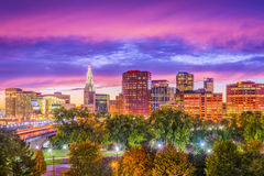 Hartford, Connecticut, USA. Downtown skyline Stock Photos