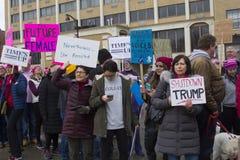 Hartford-Frauen ` s im März 2018 Lizenzfreie Stockfotos