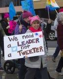 Hartford-Frauen ` s im März 2018 Stockbild