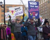 Hartford-Frauen ` s im März 2018 Lizenzfreies Stockbild