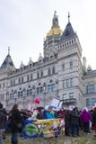 Hartford-Frauen ` s im März 2018 Lizenzfreies Stockfoto