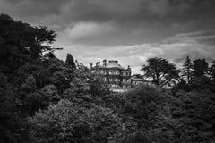Hartford Hall Northumberland Foto de archivo