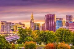 Hartford, le Connecticut, Etats-Unis photos libres de droits