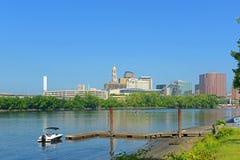 Hartford modern city skyline, Connecticut, USA Royalty Free Stock Photography