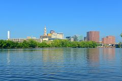 Hartford modern city skyline, Connecticut, USA Royalty Free Stock Images