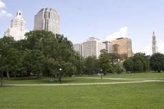 Hartford Skyline Royalty Free Stock Photo
