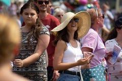 Harthill karnevaldag royaltyfria bilder