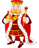 Hartkoning royalty-vrije illustratie