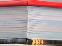 Hartkopienbuch Lizenzfreies Stockbild