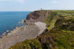Hartland Point Devon England Royalty Free Stock Photo