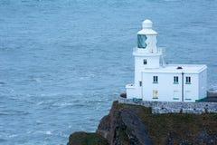 Hartland point lighthouse. Devon Uk Stock Images