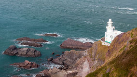 Hartland Point Lighthouse Stock Images