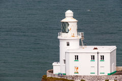 Hartland Point Lighthouse Royalty Free Stock Photography