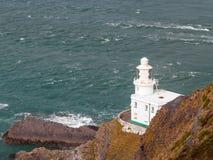 Hartland Point Lighthouse Stock Image