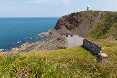 Hartland Point peninsula near Clovelly Devon England Royalty Free Stock Photo