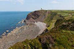 Hartland punkt Devon England Royaltyfri Foto