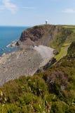Hartland punkt Devon England Royaltyfria Foton