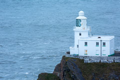 Hartland punktu latarnia morska Obrazy Stock